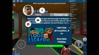 ROBLOX-Flood Escape ik weet niet hoe feelt potjes heb ik gdaan
