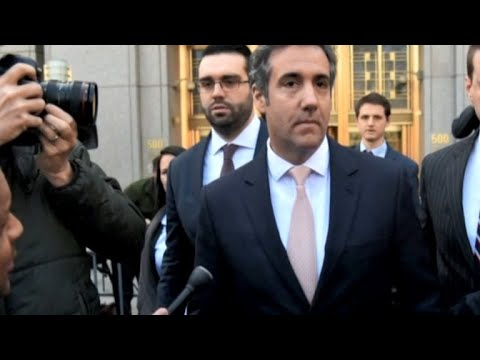 Trump lashes out at Michael Cohen after secret recording is released