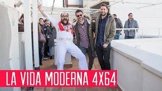La Vida Moderna 4x64... es poner en el portal de Belén el cartel