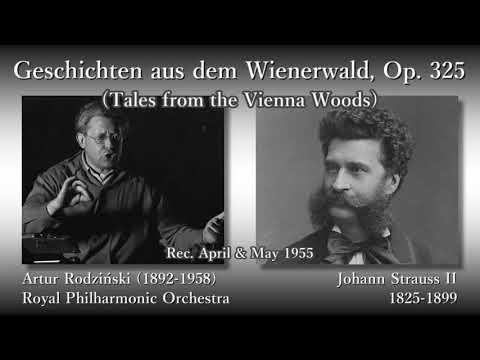 J. Strauss II: Tales from the Vienna Woods, Rodziński & RPO (1955) J. シュトラウス2世 ウィーンの森の物語 ロジンスキ