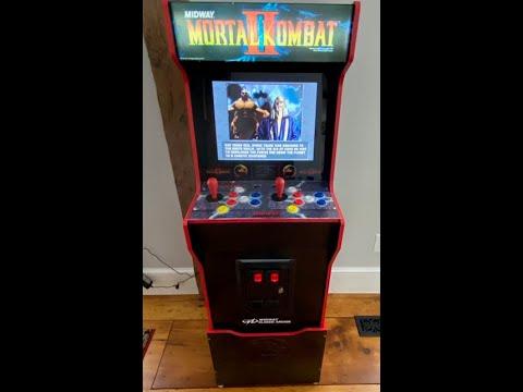 Arcade 1up Midway Legacy Mortal Kombat Controller Upgrade from 8-Bit Vinyl