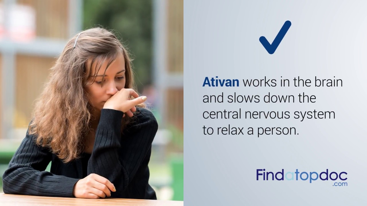 Ativan Drug For Anxiety Side Effects Dosage Uses Youtube