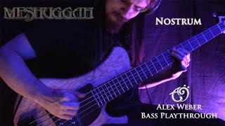 Alex Weber - Meshuggah - Nostrum