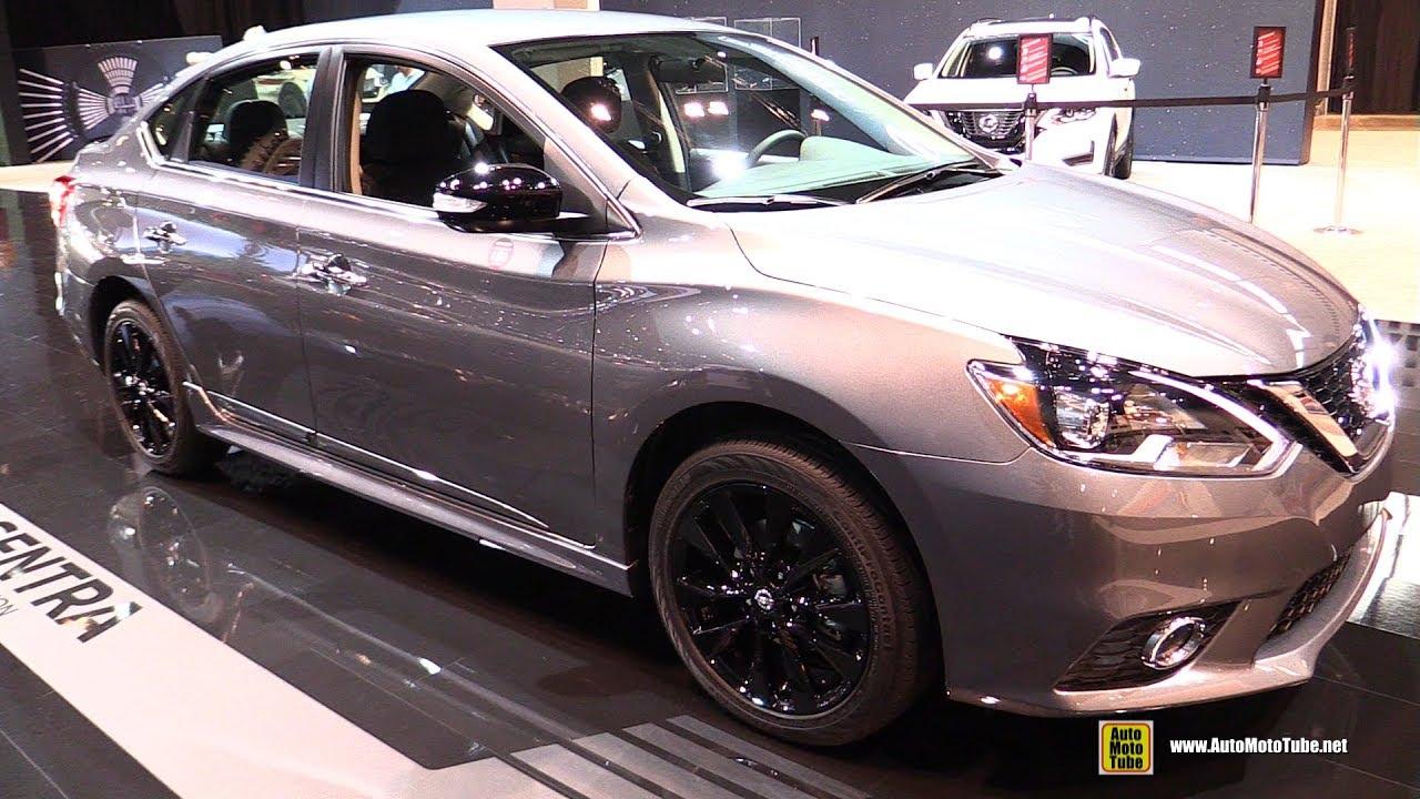 2017 Nissan Sentra Midnight Edition - Exterior and ...