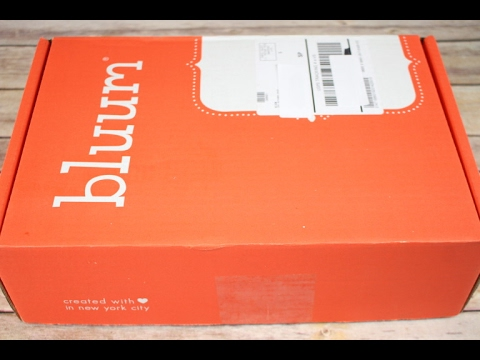 Bluum January 2017 Unboxing + Coupon Code