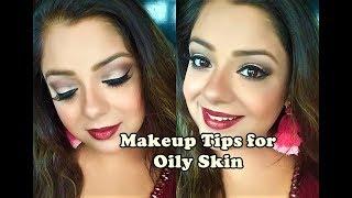 Summer Makeup For OILY SKIN (Hindi) मेकअप टिप्स - ऑयली स्किन (तैलीय त्वचा) के लिए