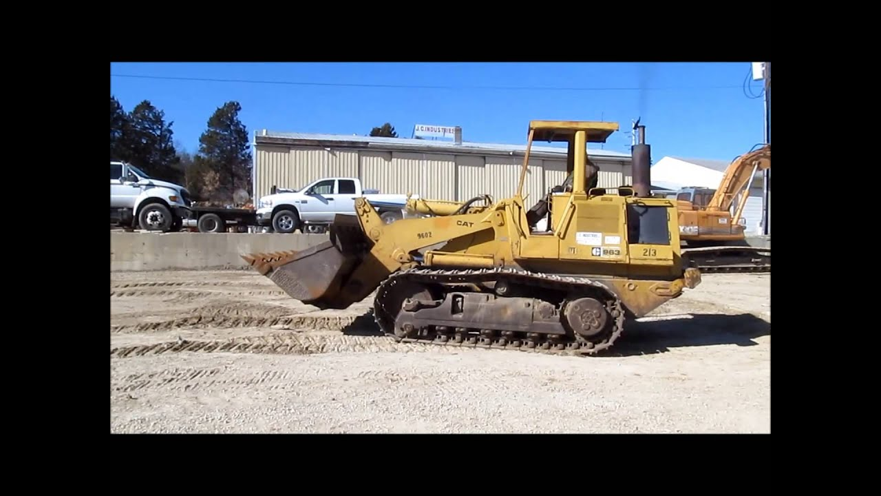 1984 Caterpillar 963 LGP track loader for sale | sold at auction March 27,  2014