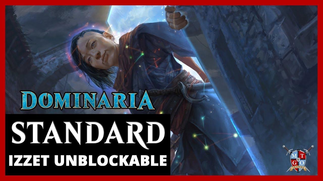 MtG: Izzet Unblockable Dominaria Standard Deck Tech