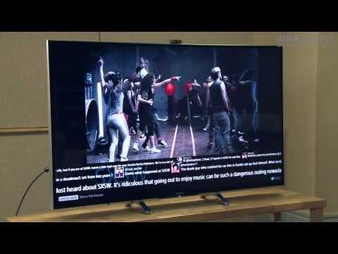 Sony Bravia KDL-55W955B TV unboxing - flagship Sony 2014 TV