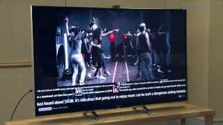 Sony Bravia KDL-55W955B TV unboxing - flagship Sony 2014 TV