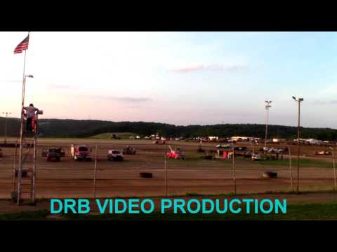 Marion Center Speedway 6/17/17 Steel Block Limited Late Model Heat 2 of 2