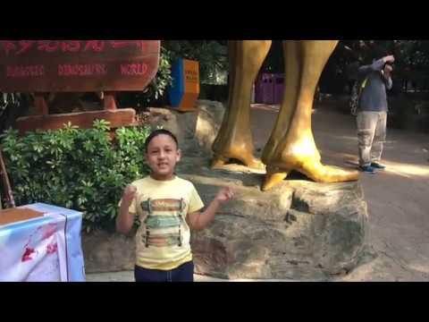 Window of The World - Shenzhen China Jurassic Dinosaur World 2018