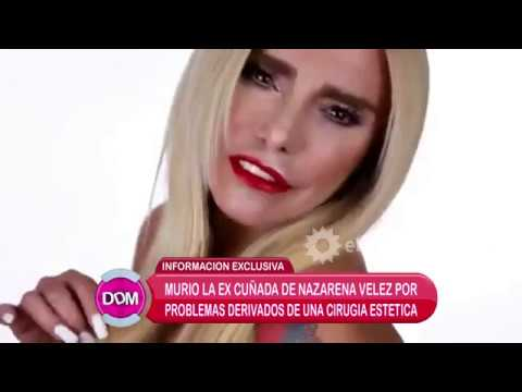 Murió Silvia Rodríguez, ex cuñada de Nazarena Vélez, por problemas en una intervención quirurjica