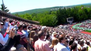 2010 Cornell University Graduation - Singing Alma Mater