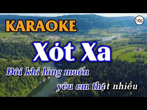 KARAOKE - Xót Xa | Beat Hay | Vici Karaoke