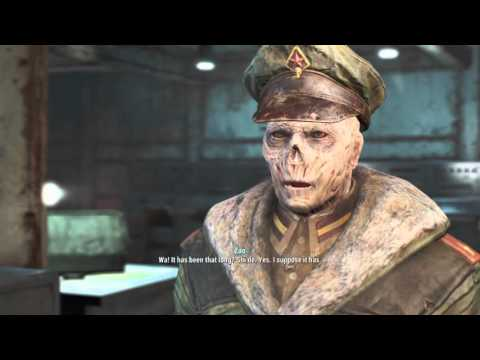 Fallout 4 secret Chinese submarine Yangtze Captain Zao