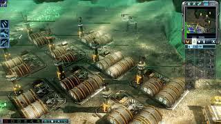 C&C3 Tiberium Wars Speedrun 100% (Mission 16 - Rome)