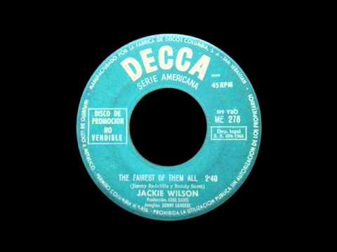Jackie Wilson The Fairest Of Them All Whispers Getting Louder