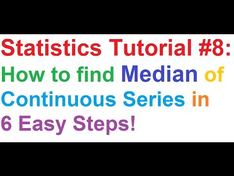 statistics-tutorial-#8:-how-to-find-median-of-a-continuous-series-in-6-easy-steps!