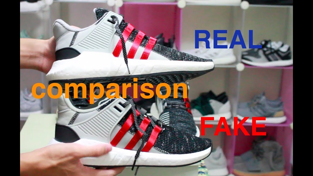 best service eede9 68162 小馬真假教學 adidas x Overkill EQT Support future comparison Real & Fake 真假比對  BY2913