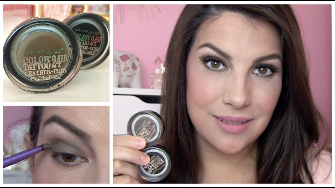 Maybelline color tattoo leathers review youtube for Color tattoo maybelline