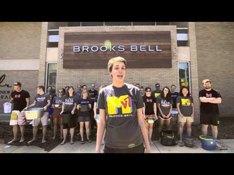 Brooks Bell Inc. Accepts ALS Ice Bucket Challenge