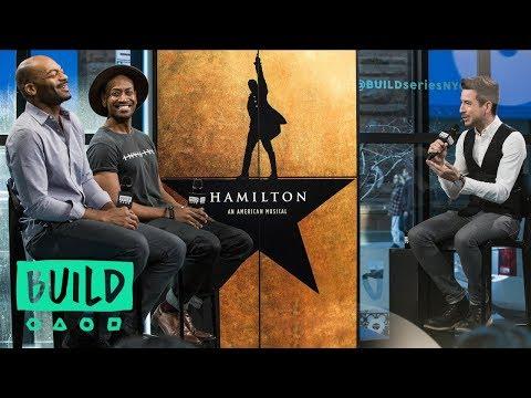 "Bryan Terrell Clark And Brandon Victor Dixon Discuss ""Hamilton"""