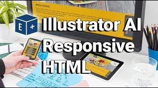 Convert Illustrator AI to Responsive HTML | Adobe CC Plugin