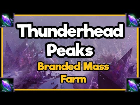 Guild Wars 2  - Thunderhead Peaks - Branded Mass Farm
