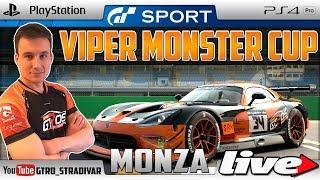 🔴 GT SPORT - DIRECTO | VIPER MONSTER CUP - MONZA | GTro_stradivar