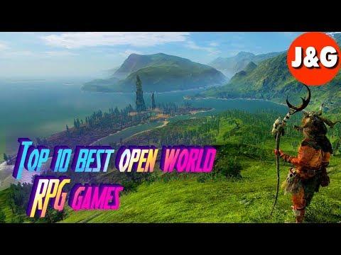 Top 10 Best Open World RPG Games