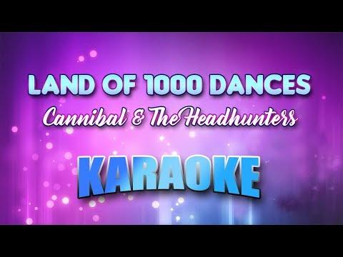 Cannibal & The Headhunters - Land Of 1000 Dances (Karaoke version with Lyrics)