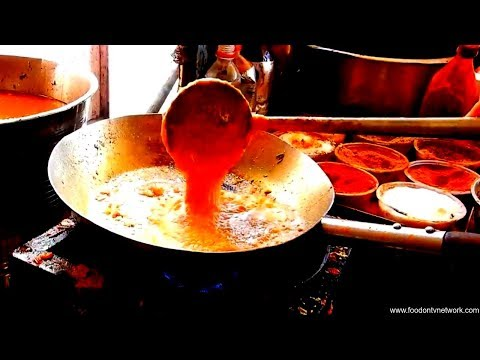 Amazing Indian Restaurant Cooking Skills 2017 | Street Food