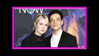 Rami Malek Is Dating His 'Bohemian Rhapsody' Costar Lucy Boynton