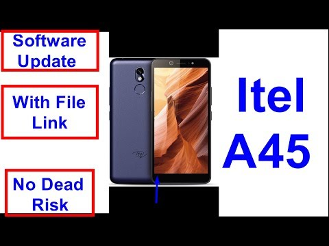 Itel A45 Software Update And Flashing With Flash File ALSO FRP RESET