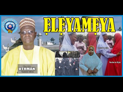 Download Eleya Meya | 2021 Ramadan Lecture | 2021 Sheikh Uthman Sannu Sheu (Mufasiru Ilorin)