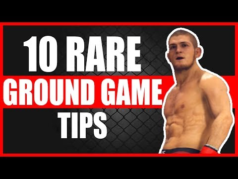 Ufc 3 Tips And Tricks 10 Rare Ufc 3 Ground Game Tips Youtube