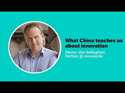 Innovation growth of China | Steven Van Belleghem