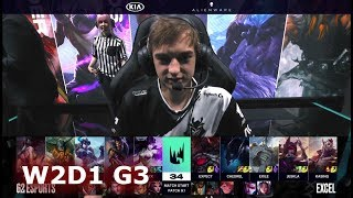 G2 eSports vs Excel Esports | Week 2 Day 1 of S9 LEC Spring 2019 (ex-EULCS) | G2 vs XL W2D1