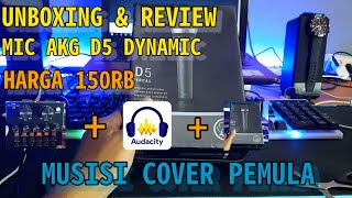 UNBOXING & REVIEW MIC AKG …
