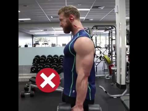 Db shrugs || GYM exercise || Right VS Wrong || Traps training || Online trainer || Check description