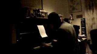 J plays around with Lately (Stevie Wonder) on piano
