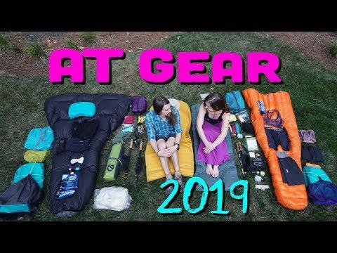 2019 AT Thruhike Ultralight Gear List