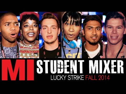 Lucky Strike Student Mixer Fall 2014