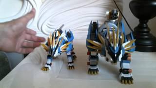 ZA001 Zoids Aggressive Murasame Liger VS Murasame Liger Motorized Kit