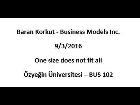 Baran Korkut - Business Models Inc.