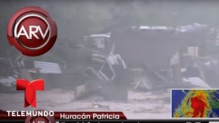 Expertos advierten sobre el poder destructivo del huracán Patricia | Al Rojo Vivo | Telemundo