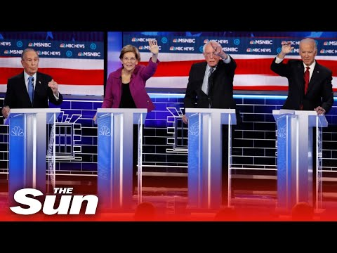 Democratic Candidates Target Bloomberg And Each Other Gifting Trump Biggest Win