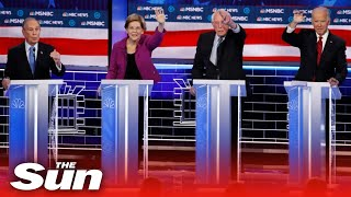Democratic candidates target Bloomberg and each other, From YouTubeVideos