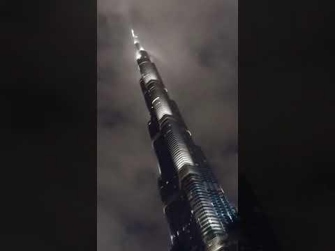 Burj Khalifa is in the clouds, DUBAI UAE #Downtown #burj_khalifa 2020